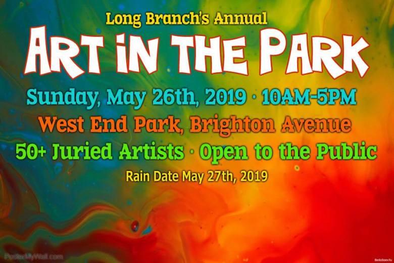 Long Branch 2019 Art in the Park
