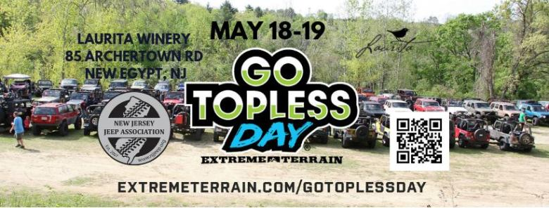 NJJA's Go Topless Day 2019 At Laurita Winery