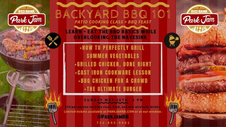 Backyard BBQ 101 Cooking Class + BBQ Feast PArk Jam
