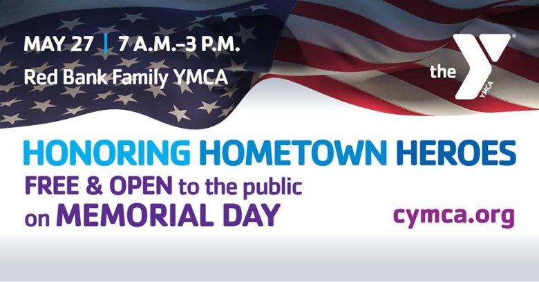 Free & Open on Memorial Day YMCA