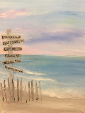 Mother's Day 2019 Pinot's Palette Beach Signs