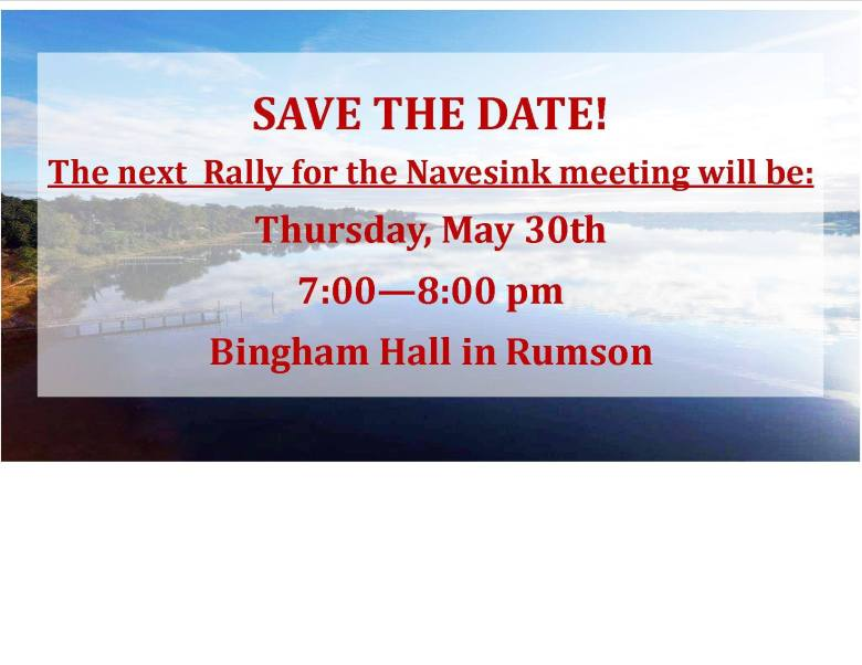 Rally for the Navesink Public Meeting